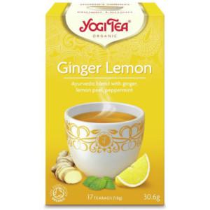 Herbata Imbir Cytryna Bio (17 x 1,8g) - Yogi Tea