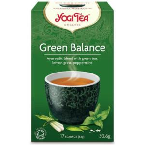 Herbata Zielona Równowaga Bio (17 x 1,8g) - Yogi Tea