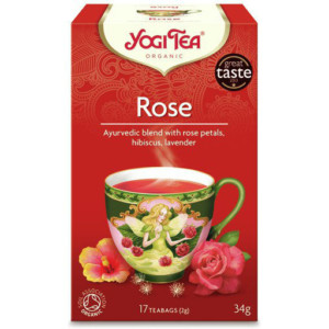 Herbata Różana Tao Rose Bio (17 x 2g) - Yogi Tea