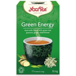 Herbata Zielona Energia Bio (17 x 1,8g) - Yogi Tea