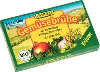 Kostki Warzywne z Ziołami (zielone) Bio 8x10,5g Rapunzel
