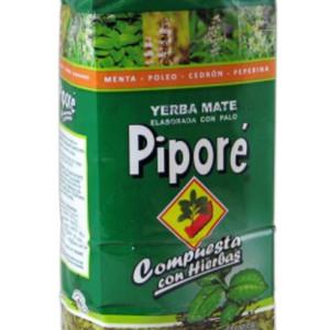 Yerba Mate Pipore Compuesta con Hierbas