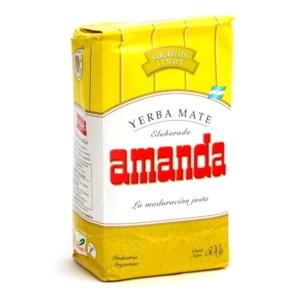 Yerba mate Amanda cytrynowa 500g Lemon