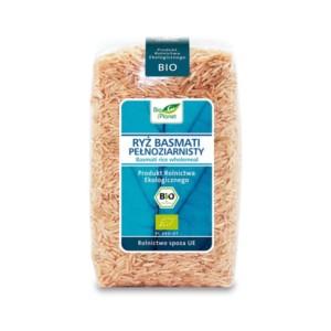 ryż basmati pełnoziarnisty brązowy bio ekologiczny bio planet