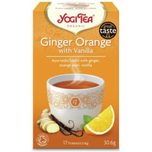 Herbata Imbir Pomarańcza Wanilia Bio (17 x 1,8g) Yogi Tea