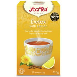 Herbata Detox Z Cytryną Bio (17x1,8g) Yogi Tea
