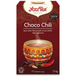 Herbata Czekoladowa z Chili Bio (17x2,2g) Yogi Tea