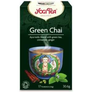 Herbata Green Chai Bio (17x1,8g) Yogi Tea