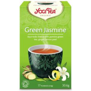 Herbata Jaśminowy Poranek Bio (17x1,8g) Yogi Tea