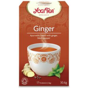 Herbata Imbirowa z Pazurem Bio 17x1,8g Yogi Tea