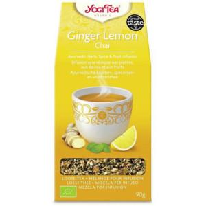 Herbata Imbir Cytryna (luzem) Bio 90g Yogi Tea