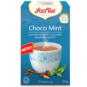Herbata Czekoladowo - miętowa Bio (17 x 2,2g) - Yogi Tea