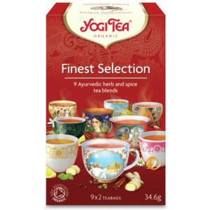 Herbata yogi tea wyborny zestaw