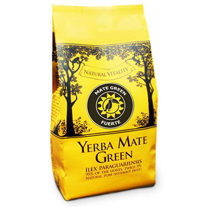 Yerba Mate Green Fuerte - Guarana, Goji