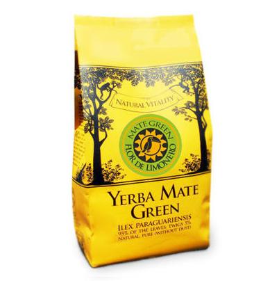 Yerba Mate Green Flor De Limonero