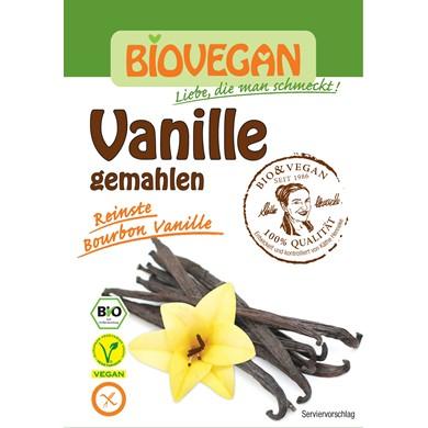 Wanilia Bourbon Mielona Bezglutenowa Bio 5g Bio Vegan