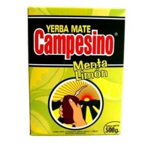 Yerba Mate Campesino Menta - Limon
