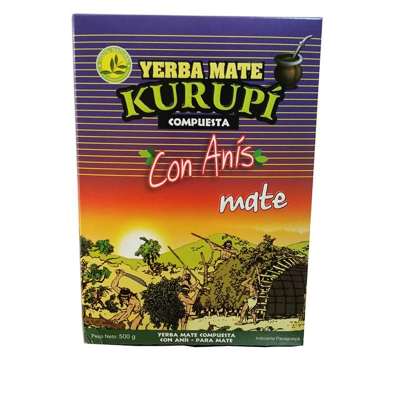 yerba mate kurupi anyzowa con anix