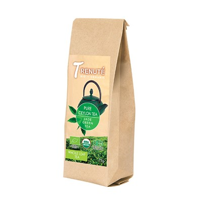 Herbata Zielona Pure Ceylon Tea Bio 75g T'renute