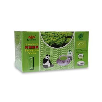 Herbata Zielona Sencha Ekspresowa Bio 25 x 2g Solida Food