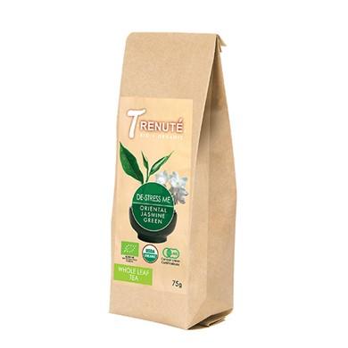 Herbata Zielona z Jasminem De-stress Me Bio 70g T'renute