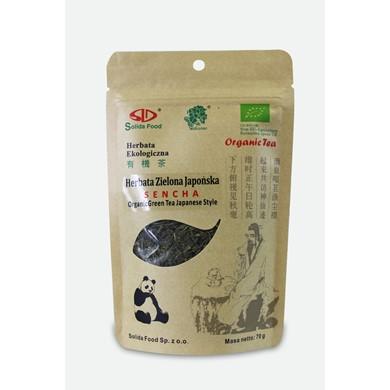 herbata zielona japonska sencha bio solida food