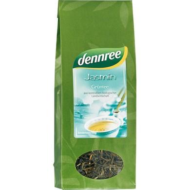 herbata zielona jasminowa 100g dennree