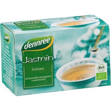 herbata zielona jasminowa dennree